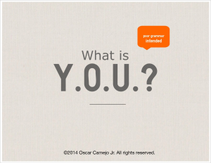 What Is Y.O.U? infographic