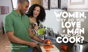 Women, why do you love a man who can cook?